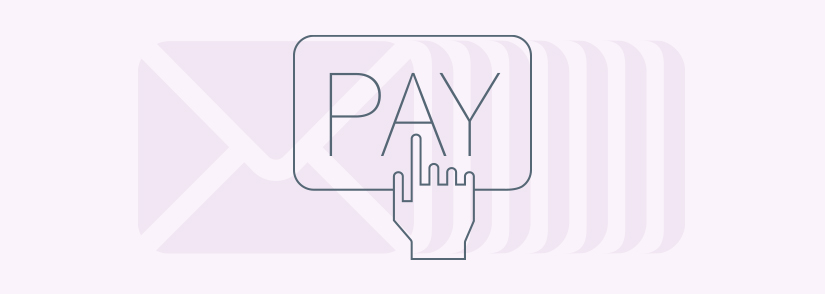 Secure payment link